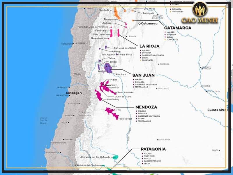 Sơ lược về vùng đất Argentina