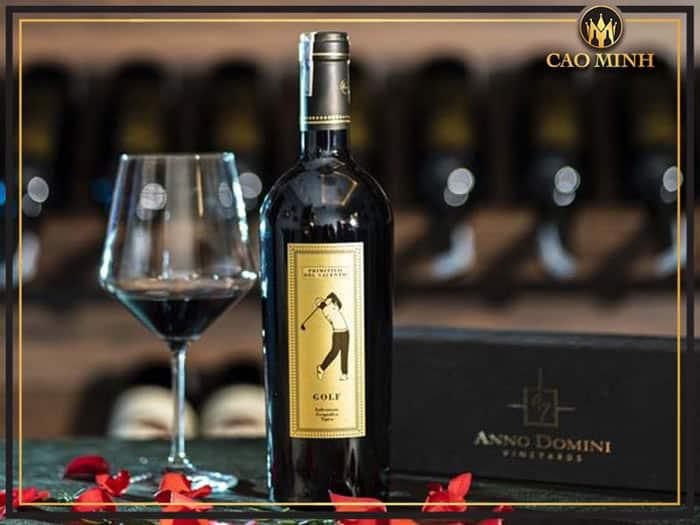 Thông tin rượu vang Rượu vang Golf Primitivo Di Manduria
