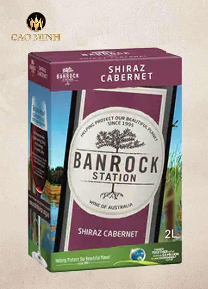 RƯỢU VANG BỊCH ÚC BANROCK STATION SHIRAZ CABERNET