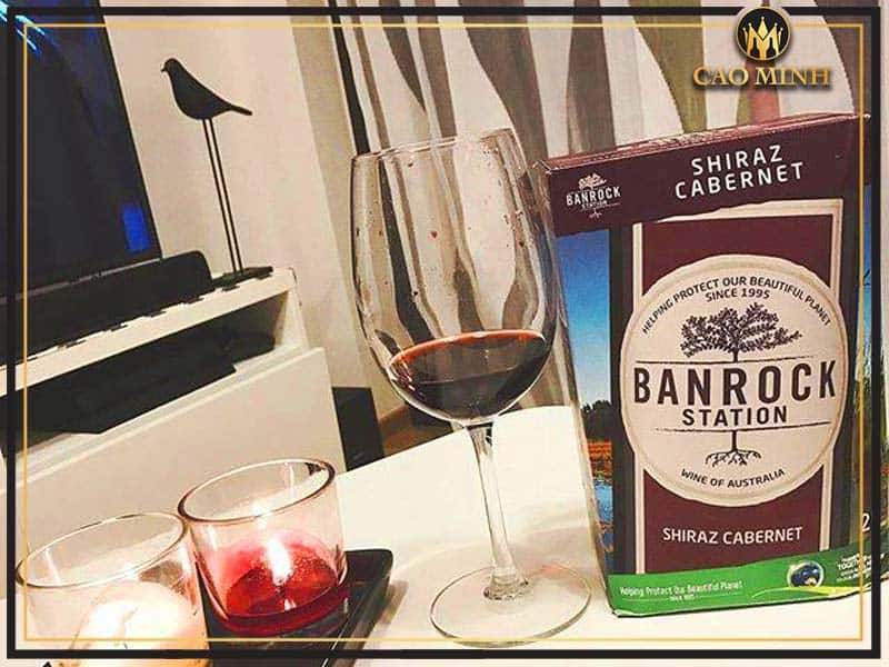 Banrock Station shiraz cabernet