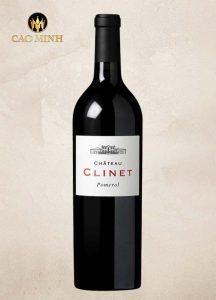 Rượu Vang Pháp Chateau Clinet