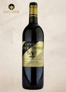 Rượu Vang Pháp Château Latour-Martillac