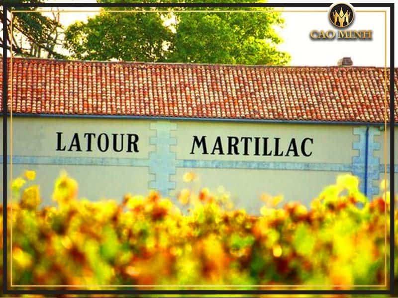 Nhà-Château Latour Martillac