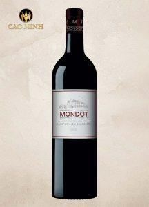 Rượu Vang Pháp Mondot Saint-Emilion 2nd Wine
