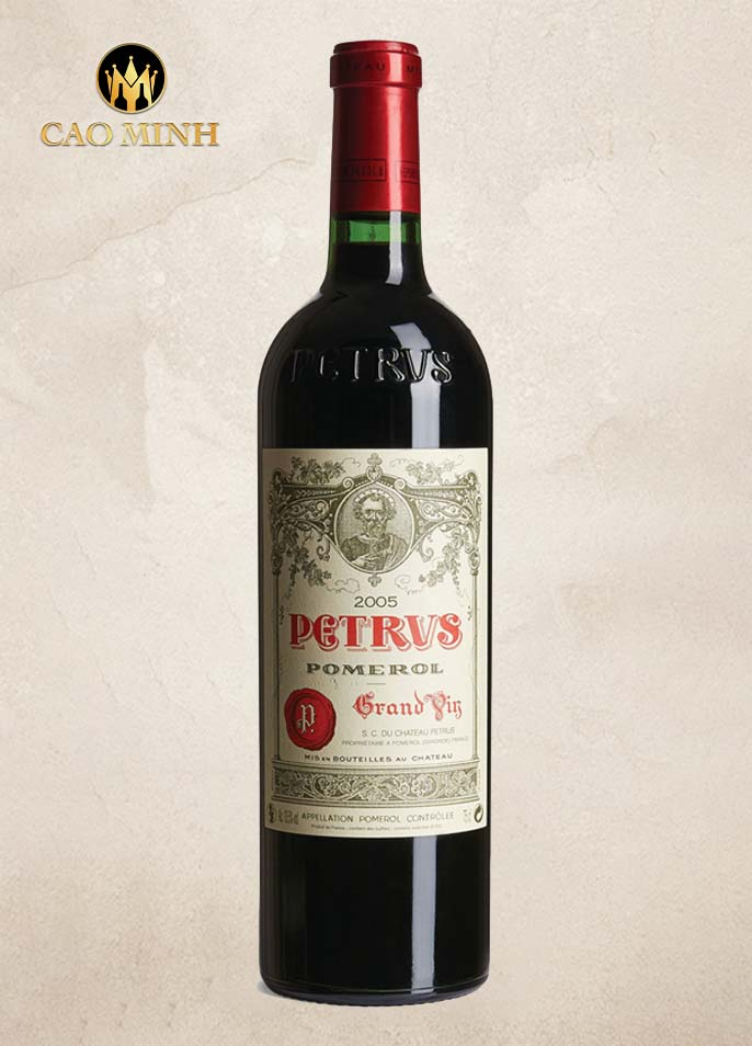 Rượu vang Pháp Chateau Petrus