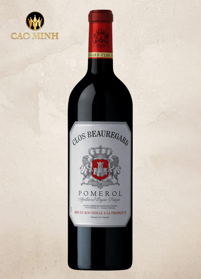 Rượu vang Pháp Clos Beauregard