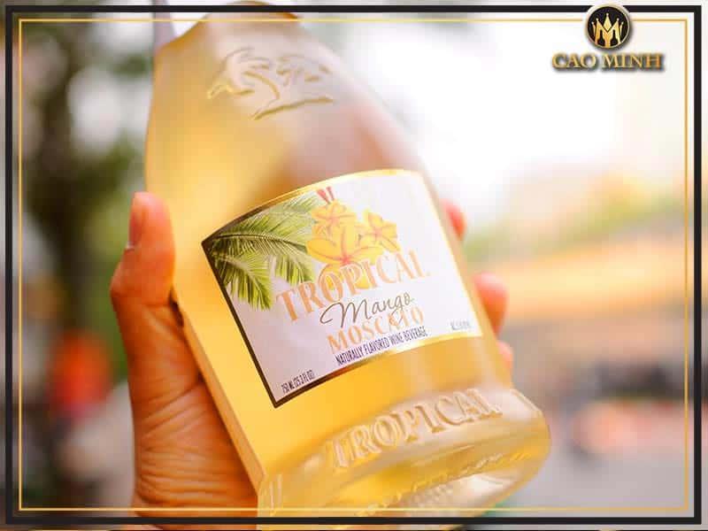 Cocktail Tropical Mango Moscato