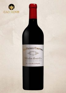Rượu vang Pháp Chateau Blanc Le Petit Cheval