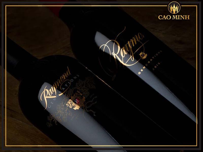 RAYMOND Generations cabernet sauvignon (1)