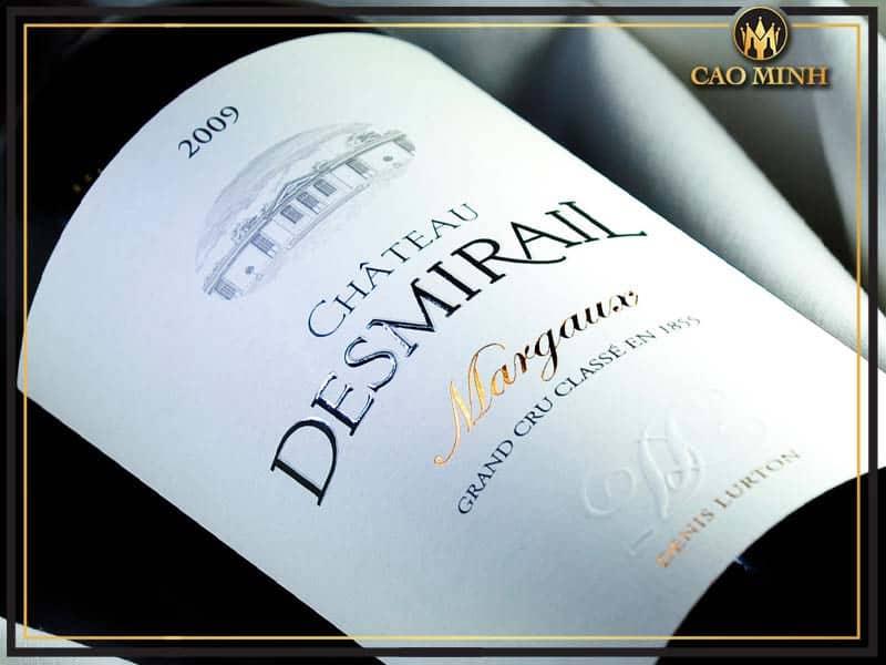 Rượu vang Chateau Desmirail