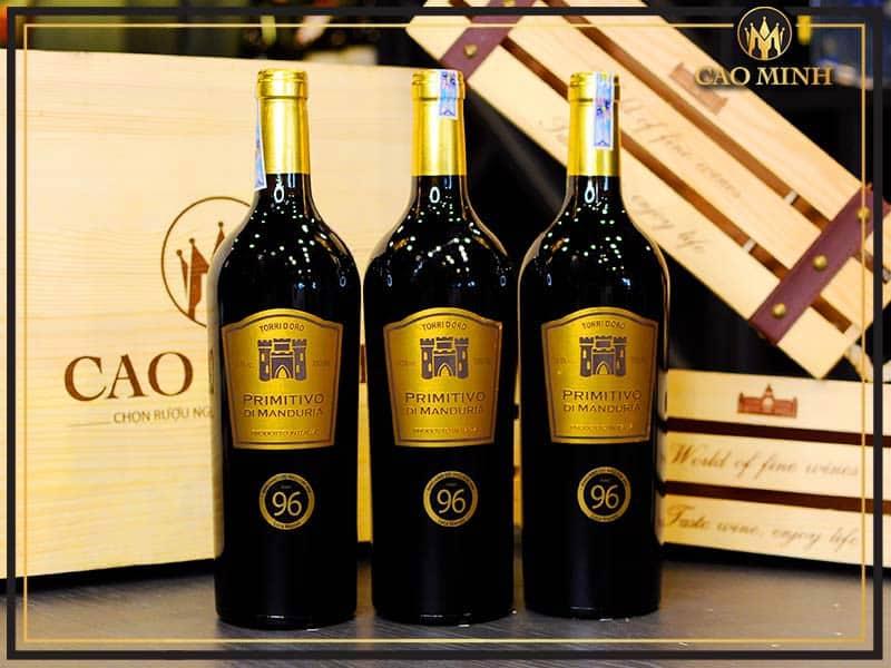 Rượu vang Torri Doro Primitivo Di Manduria