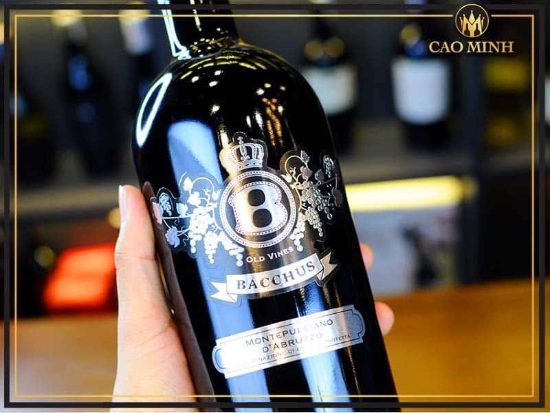 rượu vang ý bacchus silver feudi bizantini