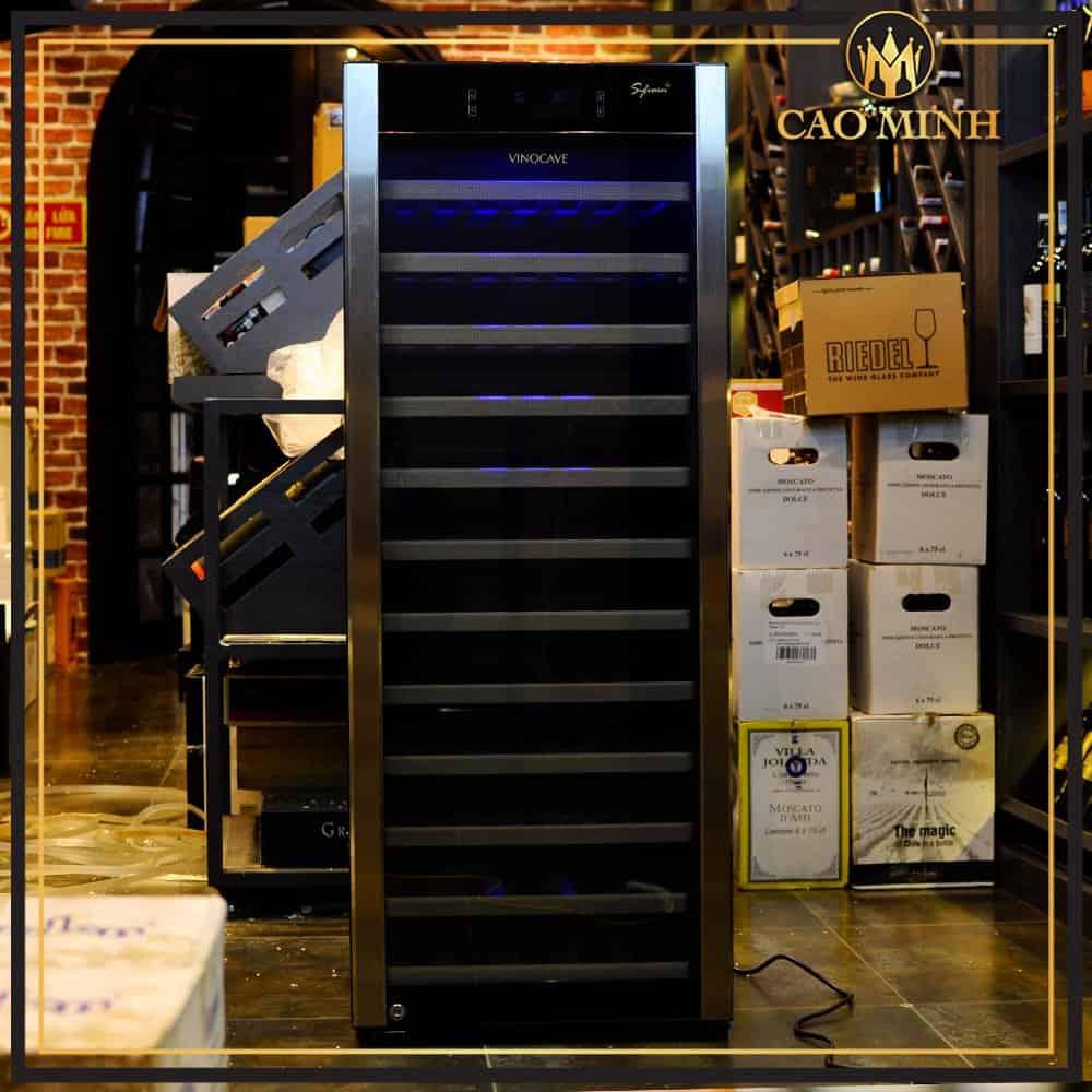 Tủ bảo quản vang Vinocave sức chứa 80 chai