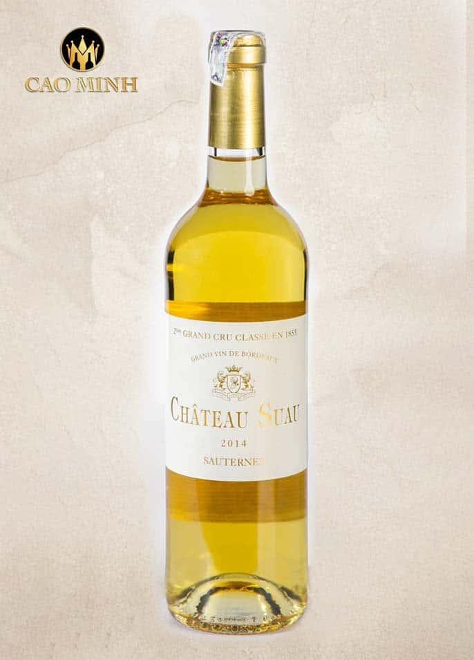 Rượu Vang Pháp Château Suau Sauternes Grand Cru Classé