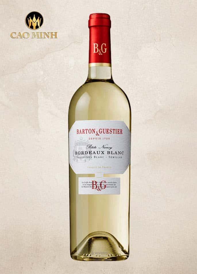 Rượu Vang Pháp Petite Nancy Barton & Guestier Bordeaux Blanc
