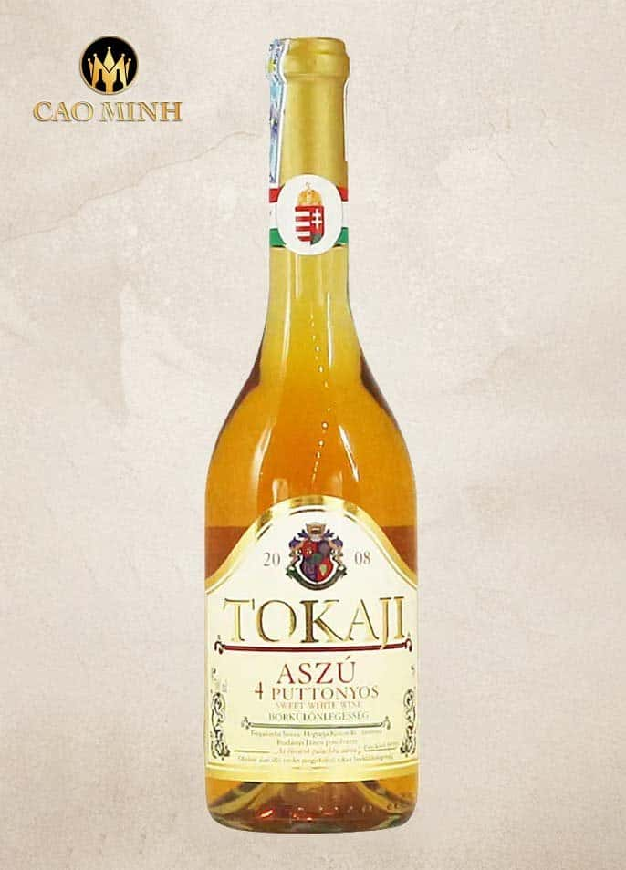 Rượu Vang Hungary Tokaji Aszú 4 Puttonyos