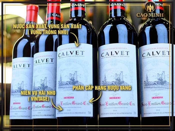 Cách định giá một chai rượu vang nhập khẩu