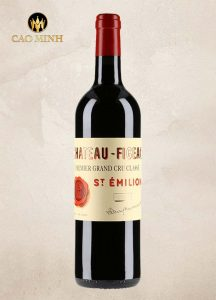 Rượu Vang Pháp Château-Figeac Grand Cru Classe