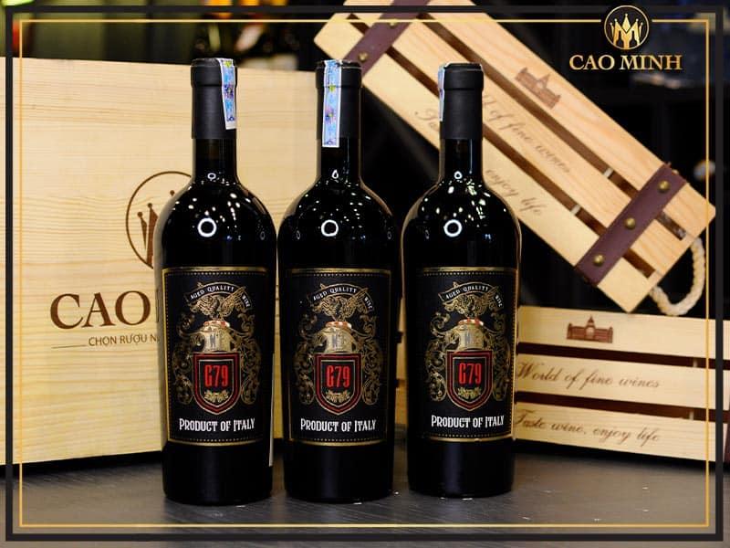 Rượu vang G79 Vino Rosso