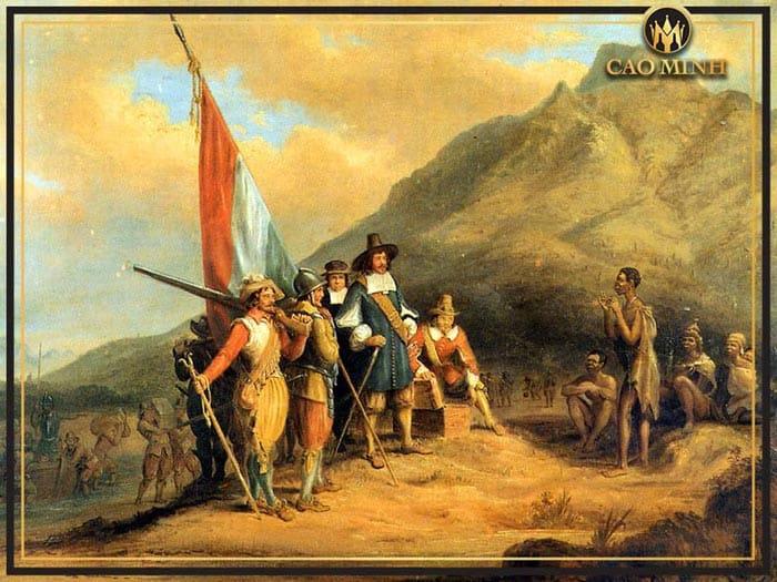 Lịch sử hình thành rượu vang Nam Phi