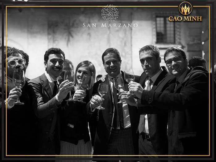 Lịch sử phát triển hãng rượu vang San Marzano