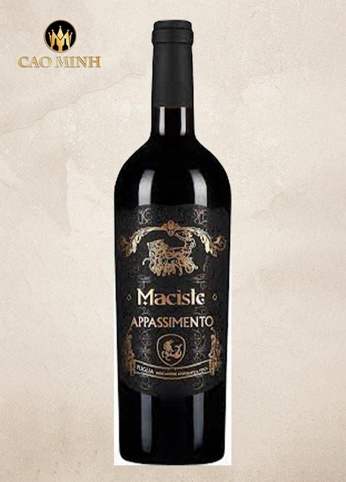 Rượu Vang Ý Maciste Rosso Appassimento Apulien IGT