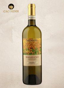Rượu vang Ý Morelli Moscato D'asti