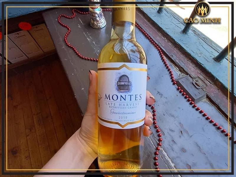 Rượu vang ngọt Chile