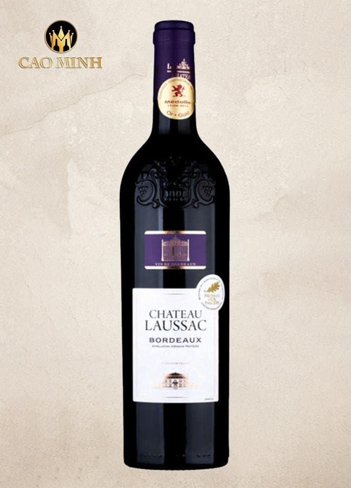 Rượu Vang Pháp Château Laussac Bordeaux
