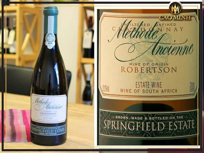Rượu vang Springfield Methode Ancienne Chardonnay