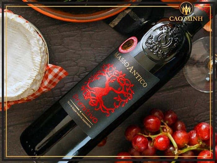 Rượu vang Ý Masso Antico Primitivo Del Salento