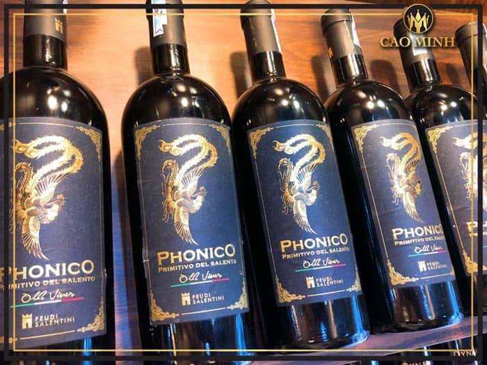 Rượu vang Ý Phonico Primitivo Del Salento
