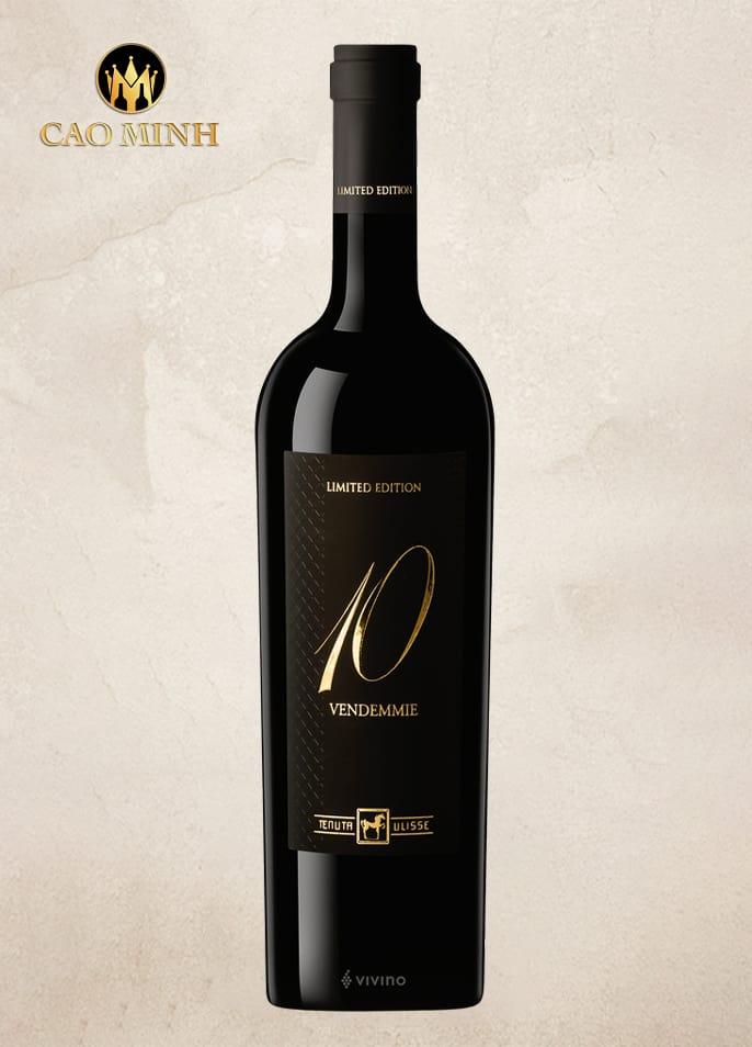 Rượu Vang Ý Tenuta Ulisse 10 Vendemmie Limited Edition