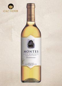 Rượu vang ngọt Chile Montes Late Harvest Gewurztraminer Botrytised