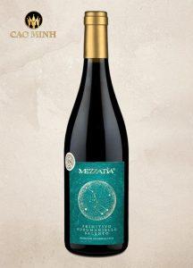 Rượu Vang Ý Mezzatia Primitivo Susumaniello