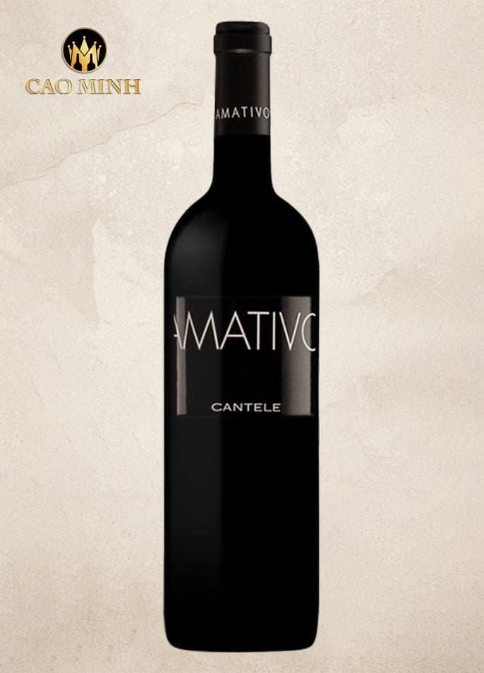 Rượu Vang Ý Cantele Amativo Salento IGT