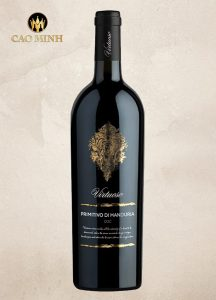 Rượu Vang Ý Virtuoso Primitivo di Manduria