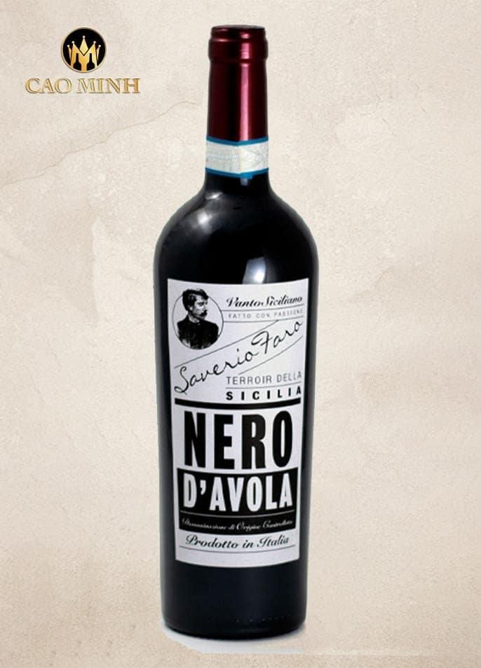 Rượu Vang Ý Saverio Faro Nero d'Avola DOC