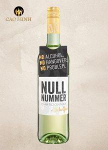 Rượu Vang Đức Nullnummer Chardonnay