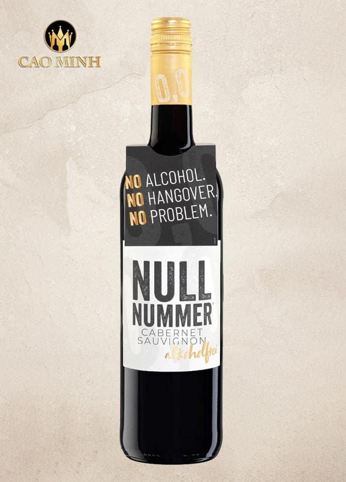 Rượu Vang Đức Nullnumber Cabernet Sauvignon
