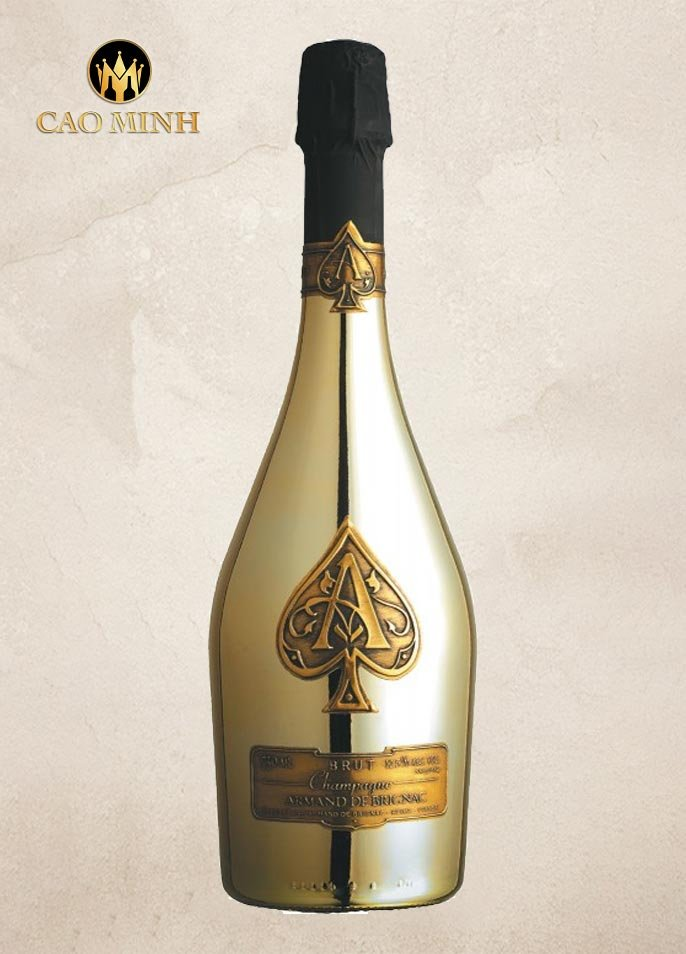 Rượu Vang Pháp Armand de Brignac Brut Gold
