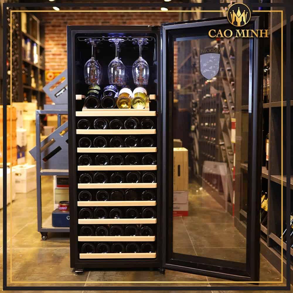 tủ bảo quản rượu vang 85 chai