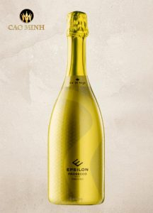 Rượu Vang Ý Epsilon Prosecco DOC Treviso Extra Dry