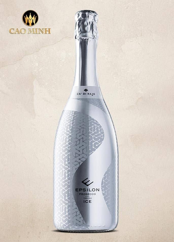 Rượu Vang Ý Epsilon Prosecco DOC Treviso Dry Ice