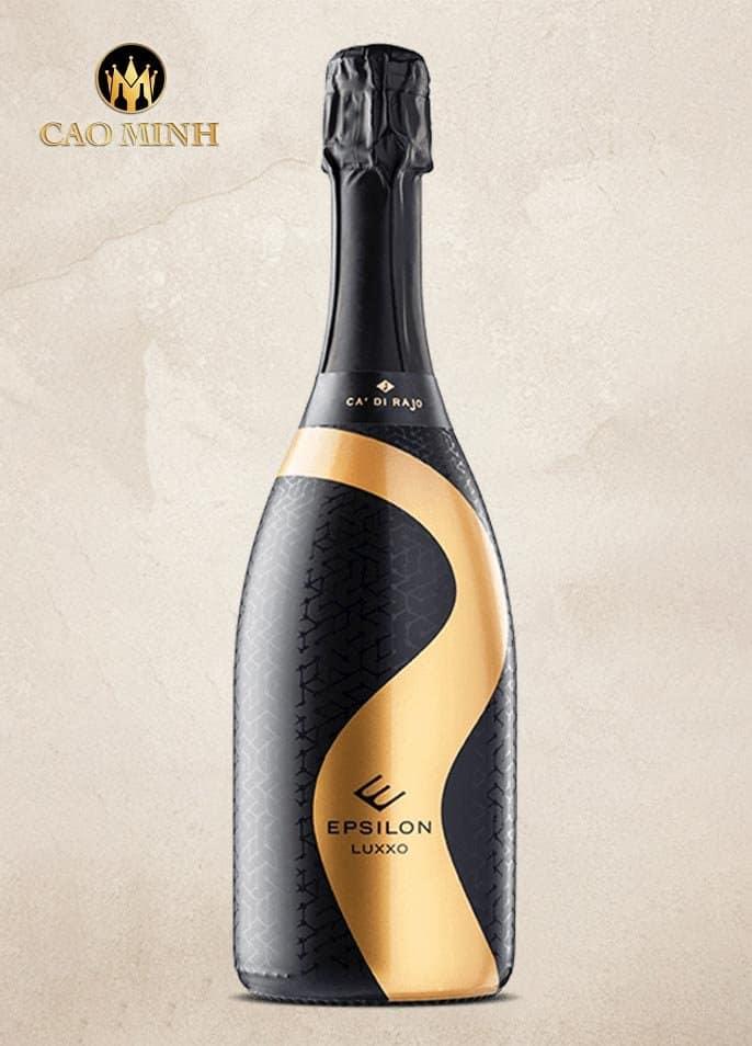 Rượu Vang Ý Epsilon Luxxo Vino Spumante Brut