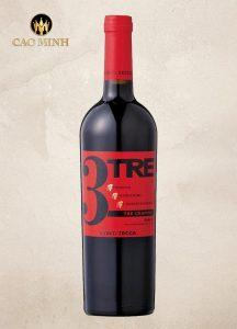Rượu Vang Ý Conti Zecca Tre Grappoli