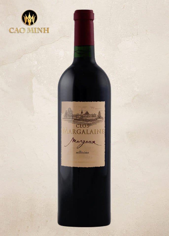 Rượu Vang Pháp Clos Margalaine Margaux