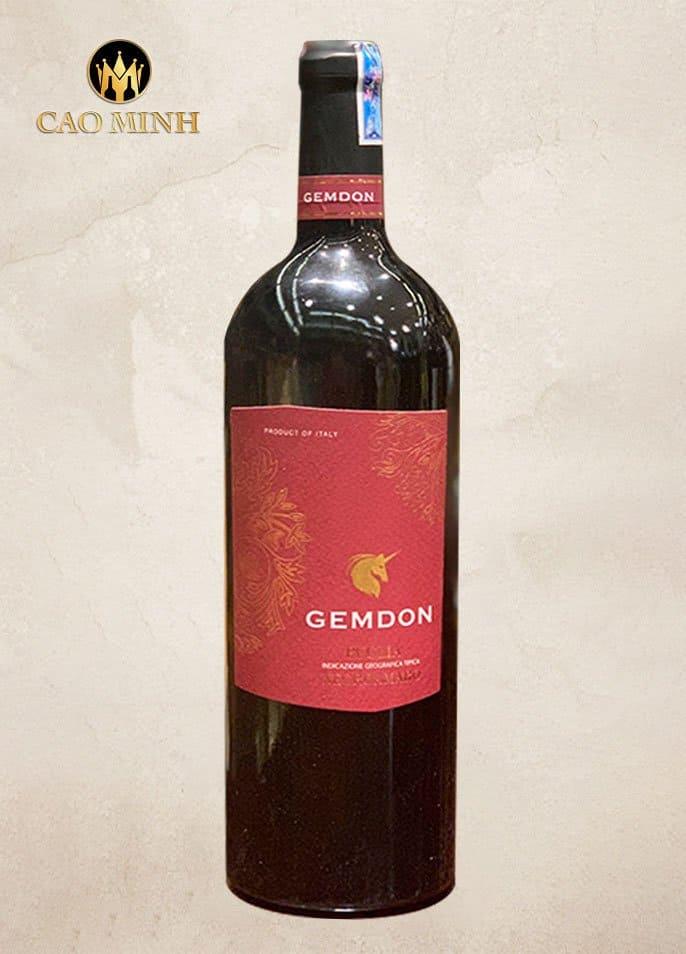 Rượu Vang Ý Gemdon Negroamaro