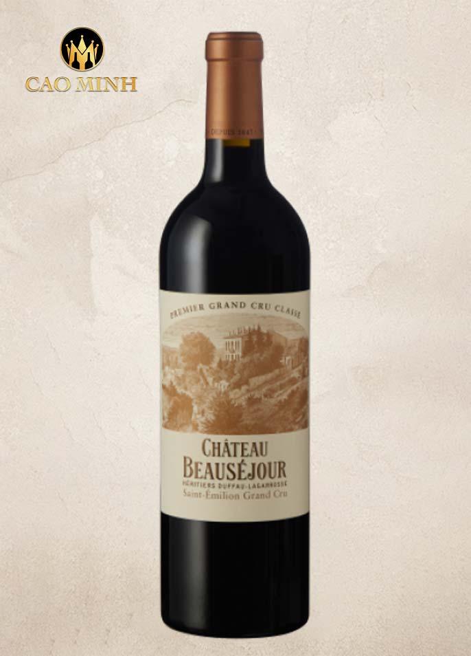 Rượu vang Pháp Château Beausejour Duffau