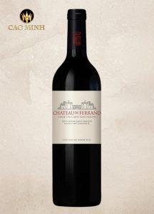 Rượu Vang Pháp Château De Ferrand Grand Cru Classé Saint-Emilion